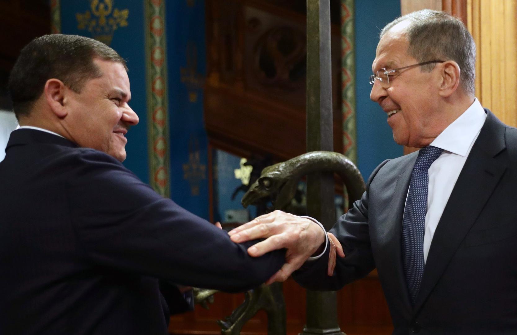روسيا وليبيا تتفقان على استئناف عمل اللجنة الحكومية المشتركة