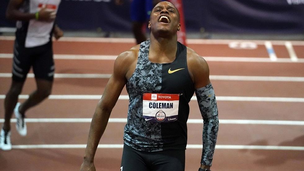 تخفيف إيقاف البطل العالمي في سباق 100 متر كولمان إلى 18 شهرا