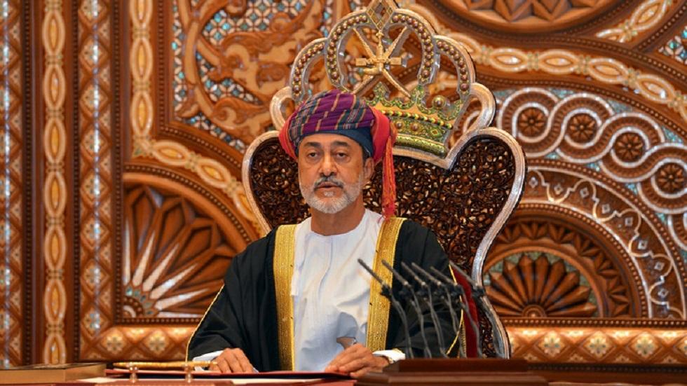 برقية من سلطان عمان إلى بشار الأسد