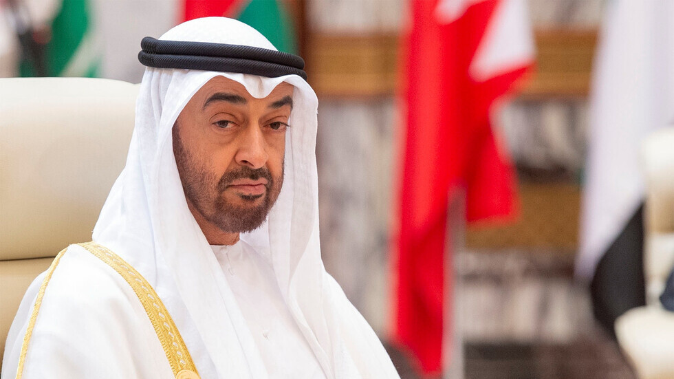 محمد بن زايد يعزي الأمير تشارلز في وفاة والده