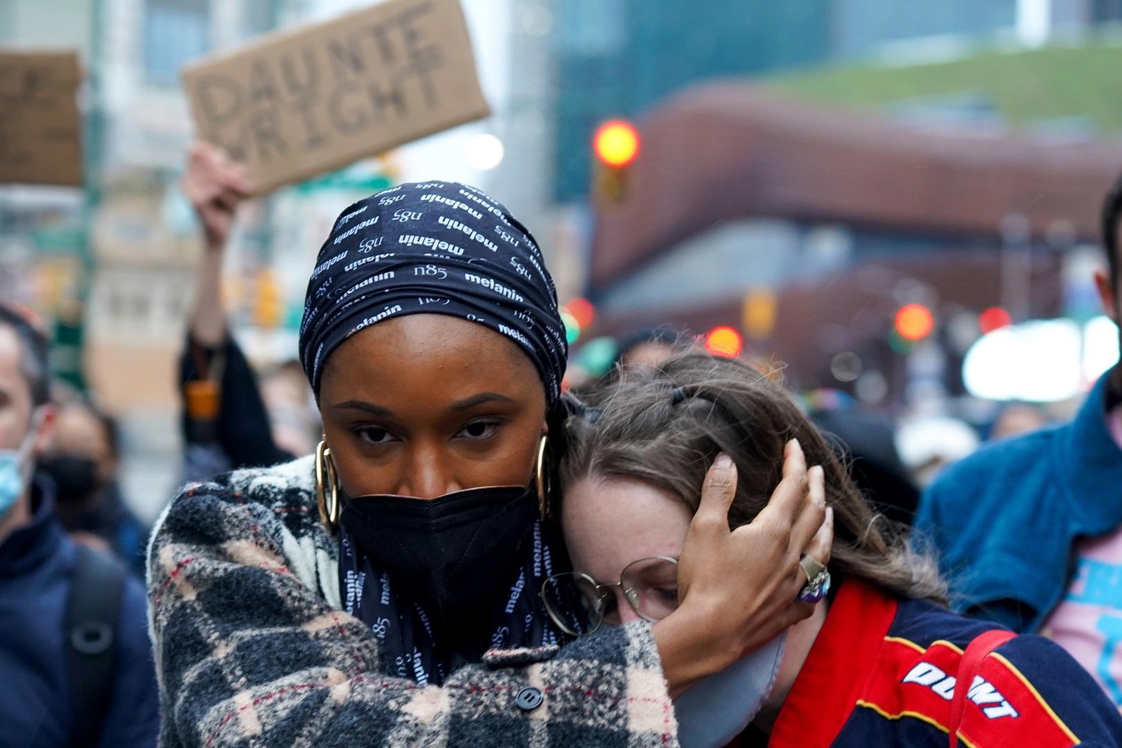 مظاهرات في نيويورك ضد عنف الشرطة