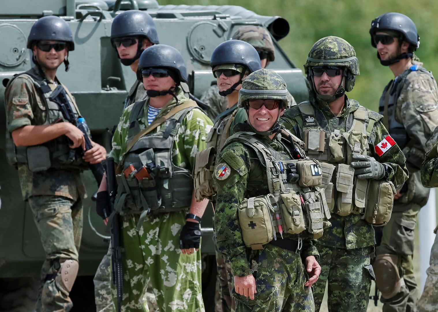 كندا تعلق عمل بعثتها العسكرية في أوكرانيا بسبب كورونا