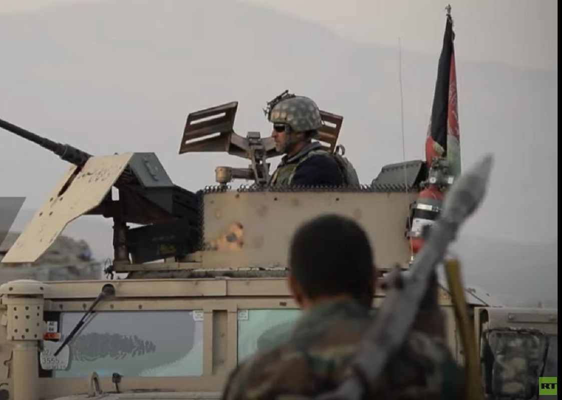 ألة بقوات الأمن الأفغانية