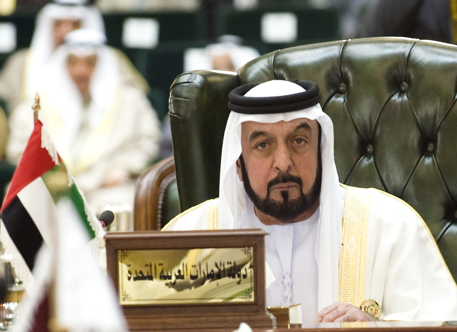 رئيس الإمارات ونائبه محمد بن زايد وحاكم دبي يبعثون رسائل إلى الرئيس السوري