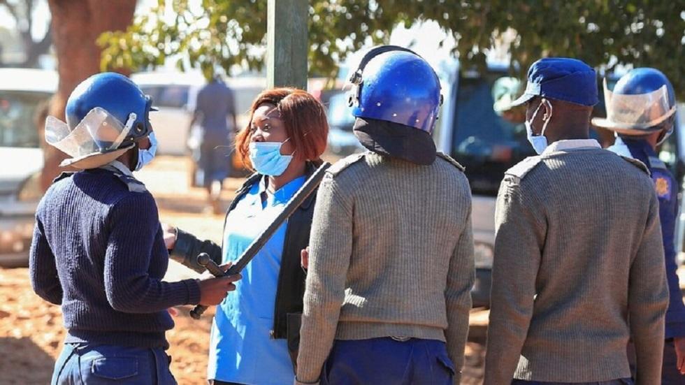 الوضع في زيمبابوي - أرشيف