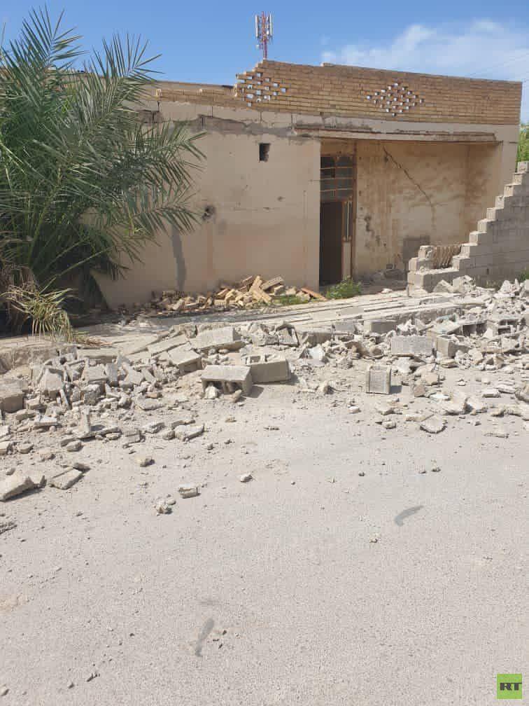 زلزال يضرب ميناء غناوة في إيران (صور+ فيديو)