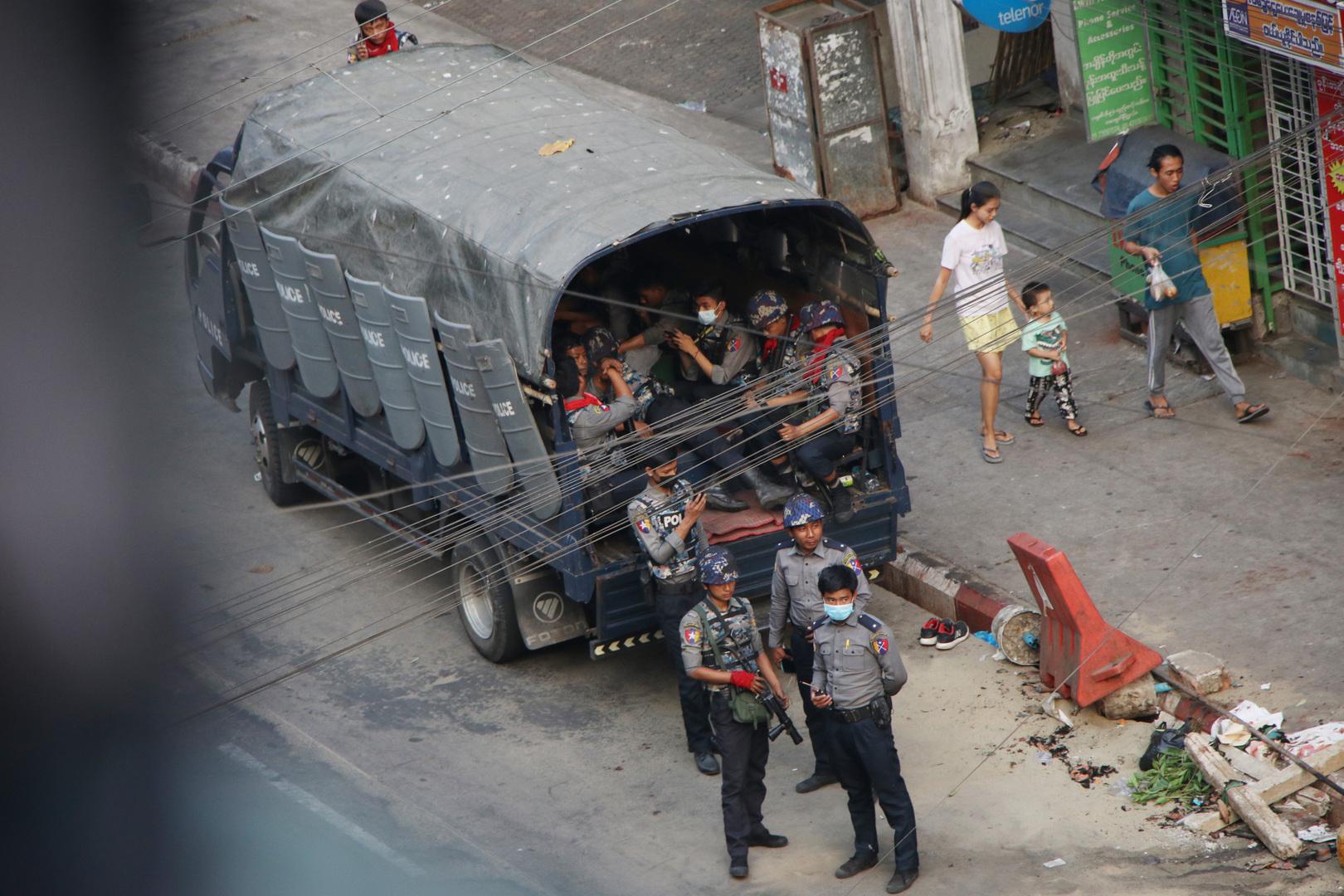 حكومة شكلتها المعارضة في ميانمار تطالب بالمشاركة في أي مسعى لحل الأزمة بالبلاد