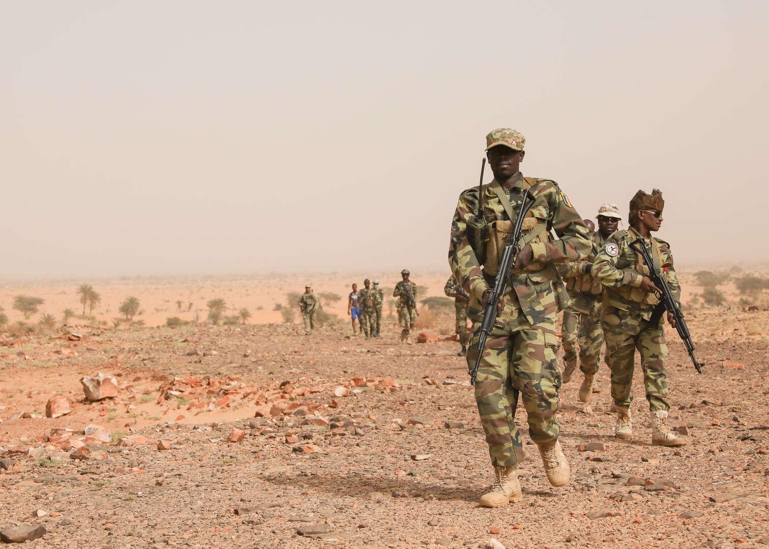 جيش تشاد يعلن تدمير رتل لمتمردين قادمين من ليبيا