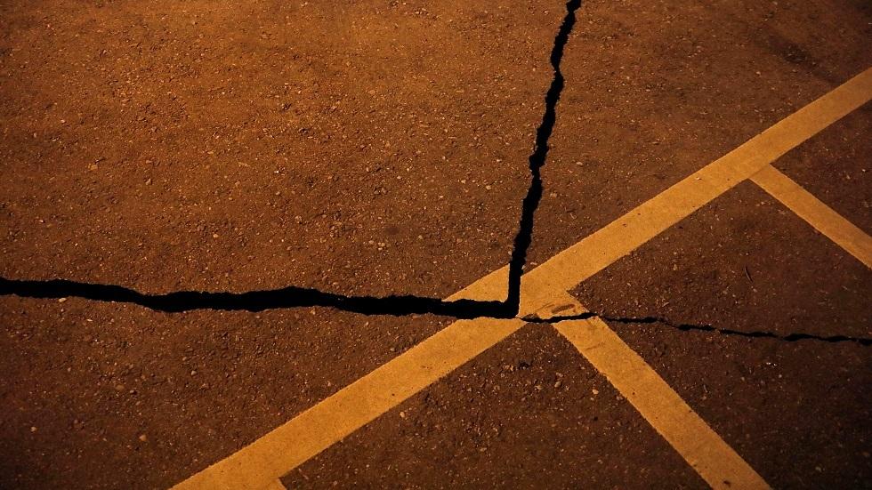 أضرار خلفها زلزال في تايوان -أرشيف-