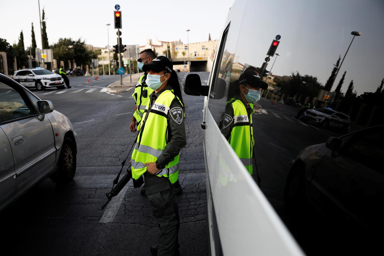 عناصر شرطة في إسرائيل