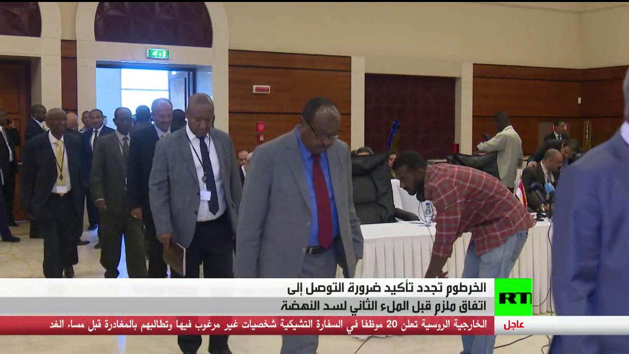 الخرطوم: ضرورة التوصل لاتفاق بشأن النهضة