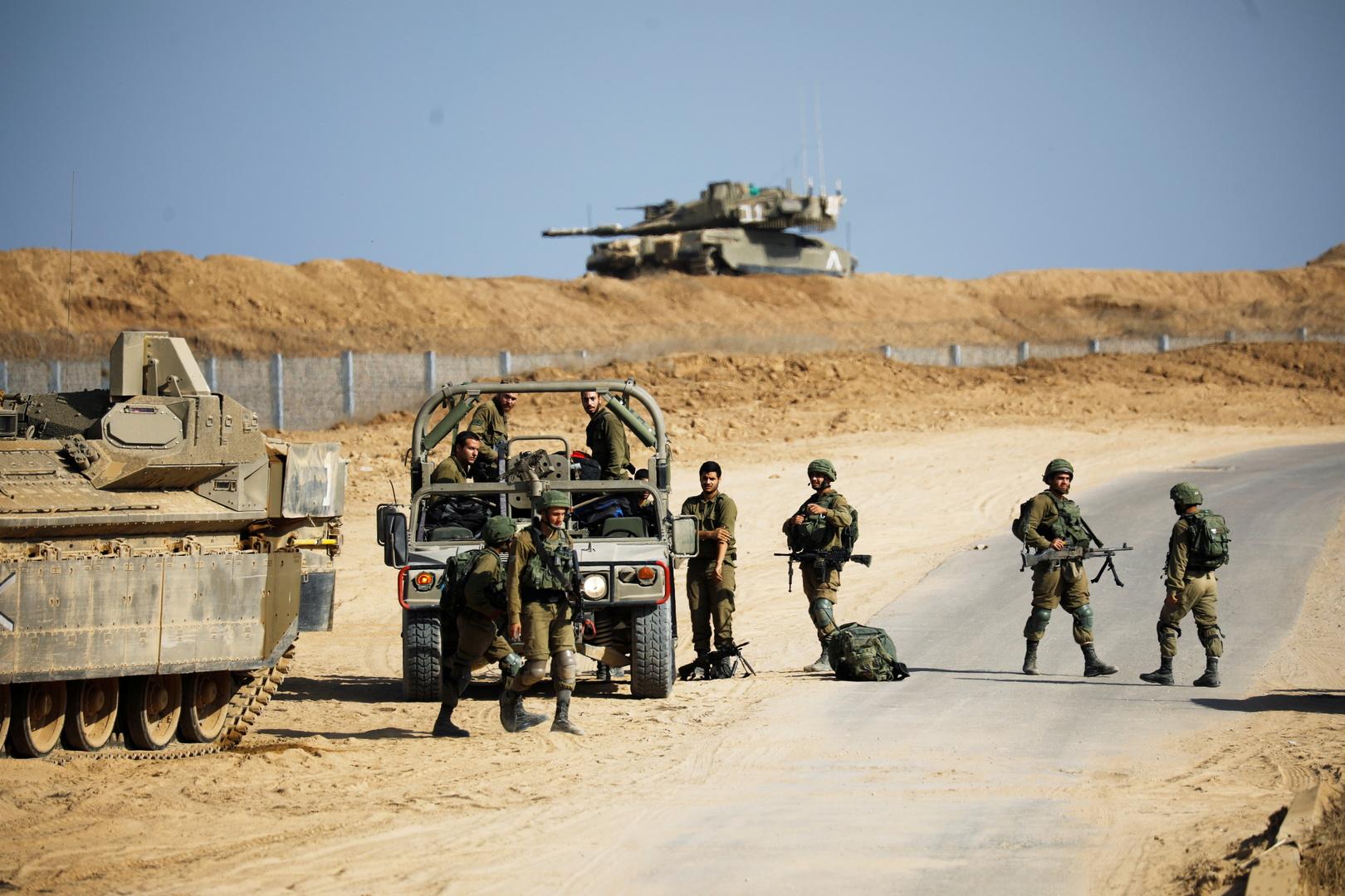 إسرائيل تجري تدريبات عند حدود الأردن