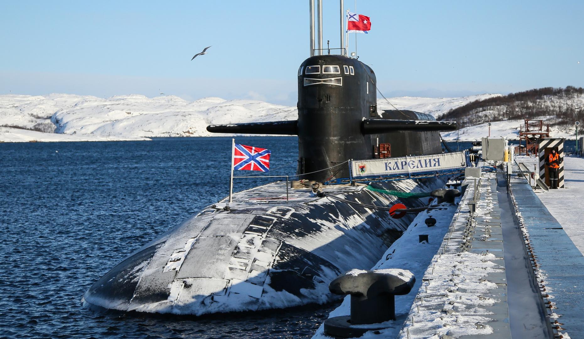"""غواصة """"كاريليا"""" النووية الروسية"""