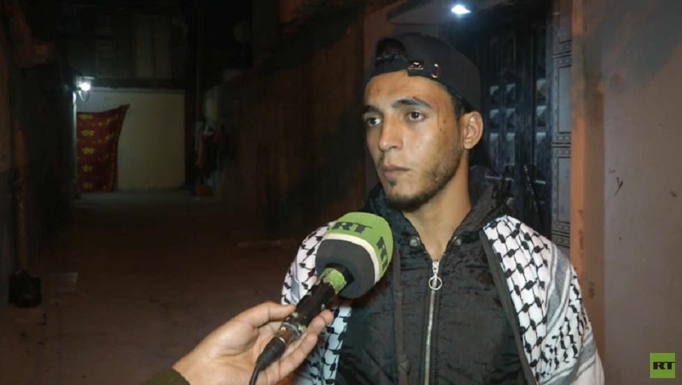هيثم.. مسحراتي المخيم وشاهد على مأساة غزة