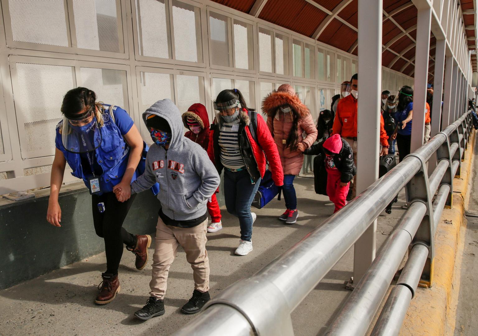 يونيسيف: عدد المهاجرين القصر عند الحدود المكسيكية-الأميركية زاد تسع مرات