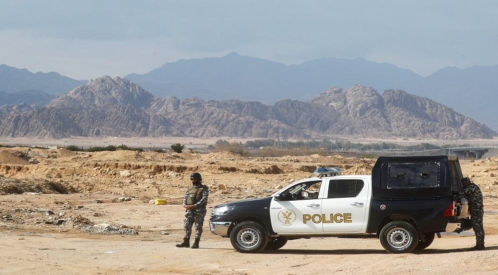 عناصر شرطة مصرية في سيناء