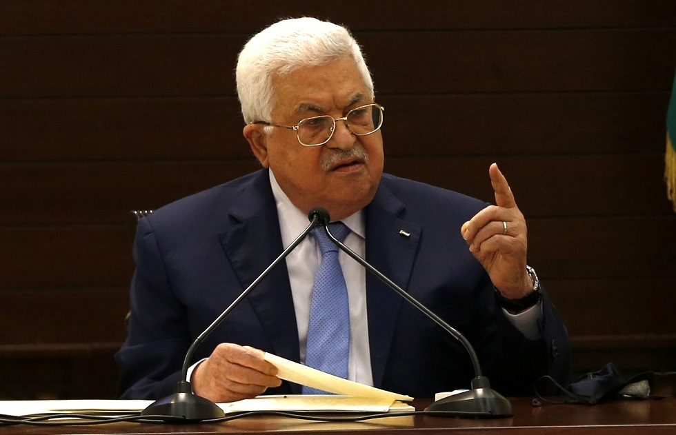الرئيس الفرنسي محمود عباس