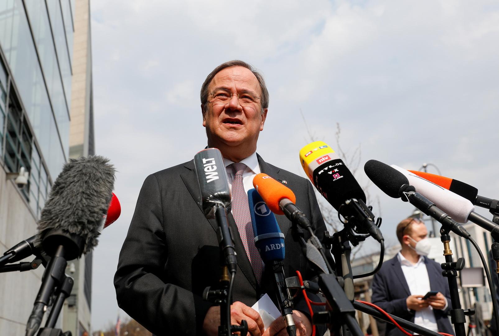 أرمين لاشيت يقترب من ترشيحه لمنصب المستشار الألماني عن حزب ميركل
