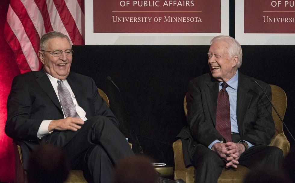 وفاة نائب الرئيس الأمريكي الأسبق جيمي كارتر