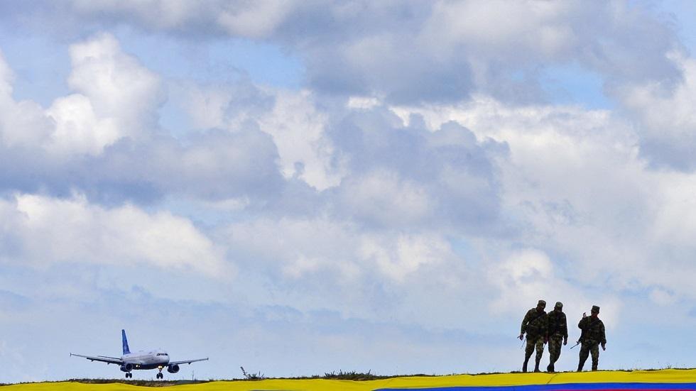 وزارة الدفاع الكولومبية تقول إن طائرة روسية انتهكت أجواءها