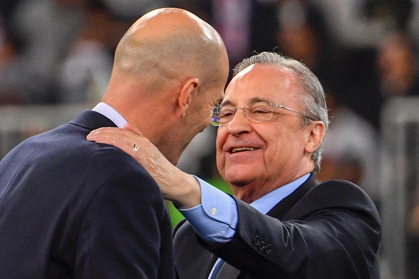 بيريز: ريال مدريد