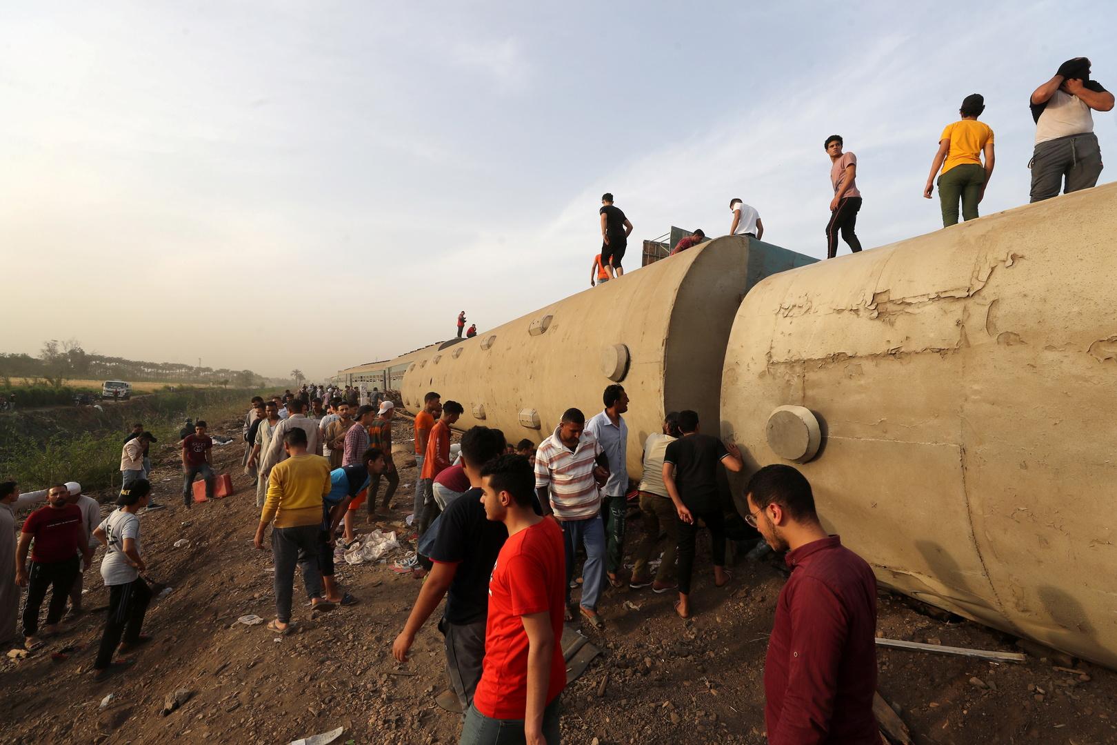 تغييرات كبيرة في هيئة السكك الحديدية بمصر بعد حادث قطار طوخ