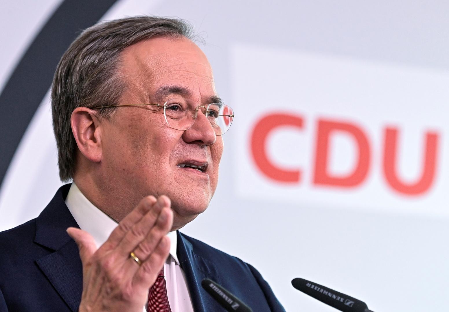 ترشيح لاشيت لمنصب المستشار الألماني عن حزب ميركل