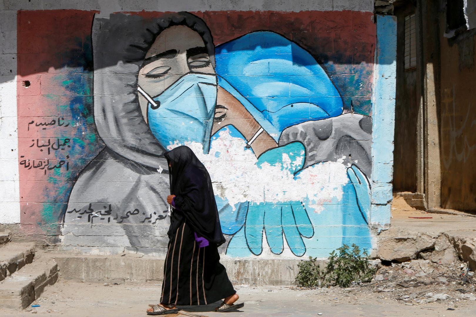 الصليب الأحمر يحذر من خطورة الوضع الوبائي في قطاع غزة