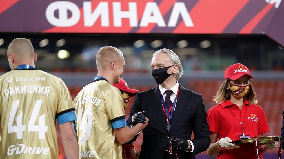 فوز رئيس الاتحاد الروسي لكرة القدم بعضوية اللجنة التنفيذية لـ