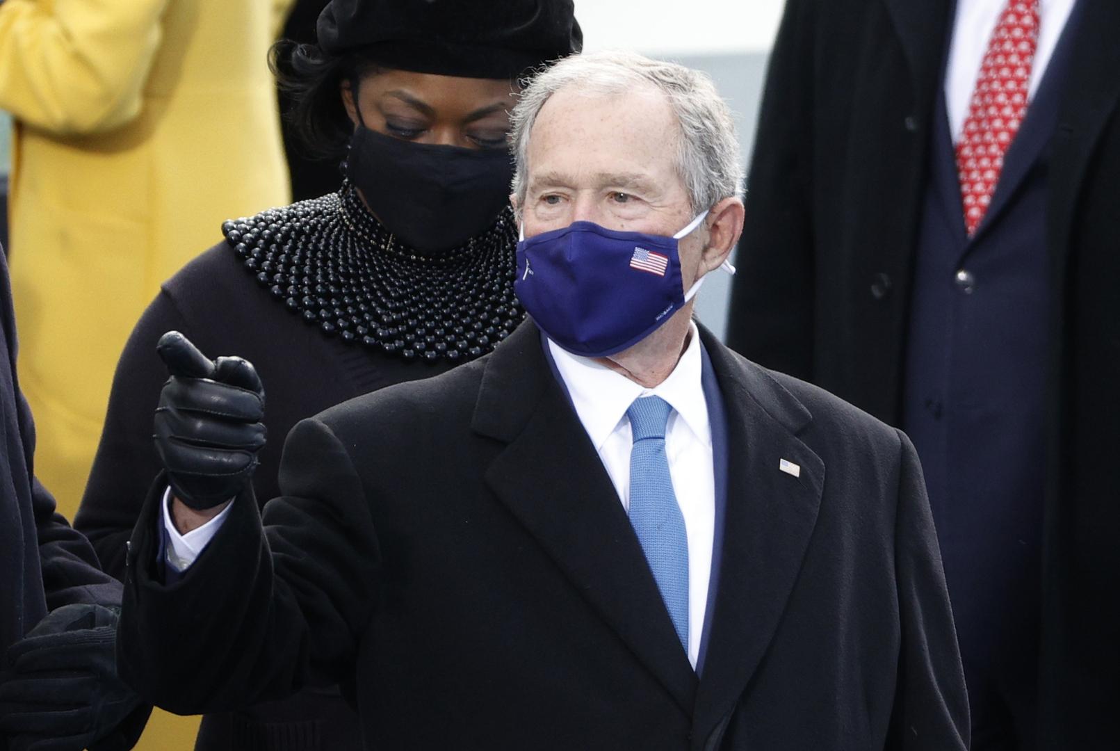 بوش يكشف لمن صوت في انتخابات 2020