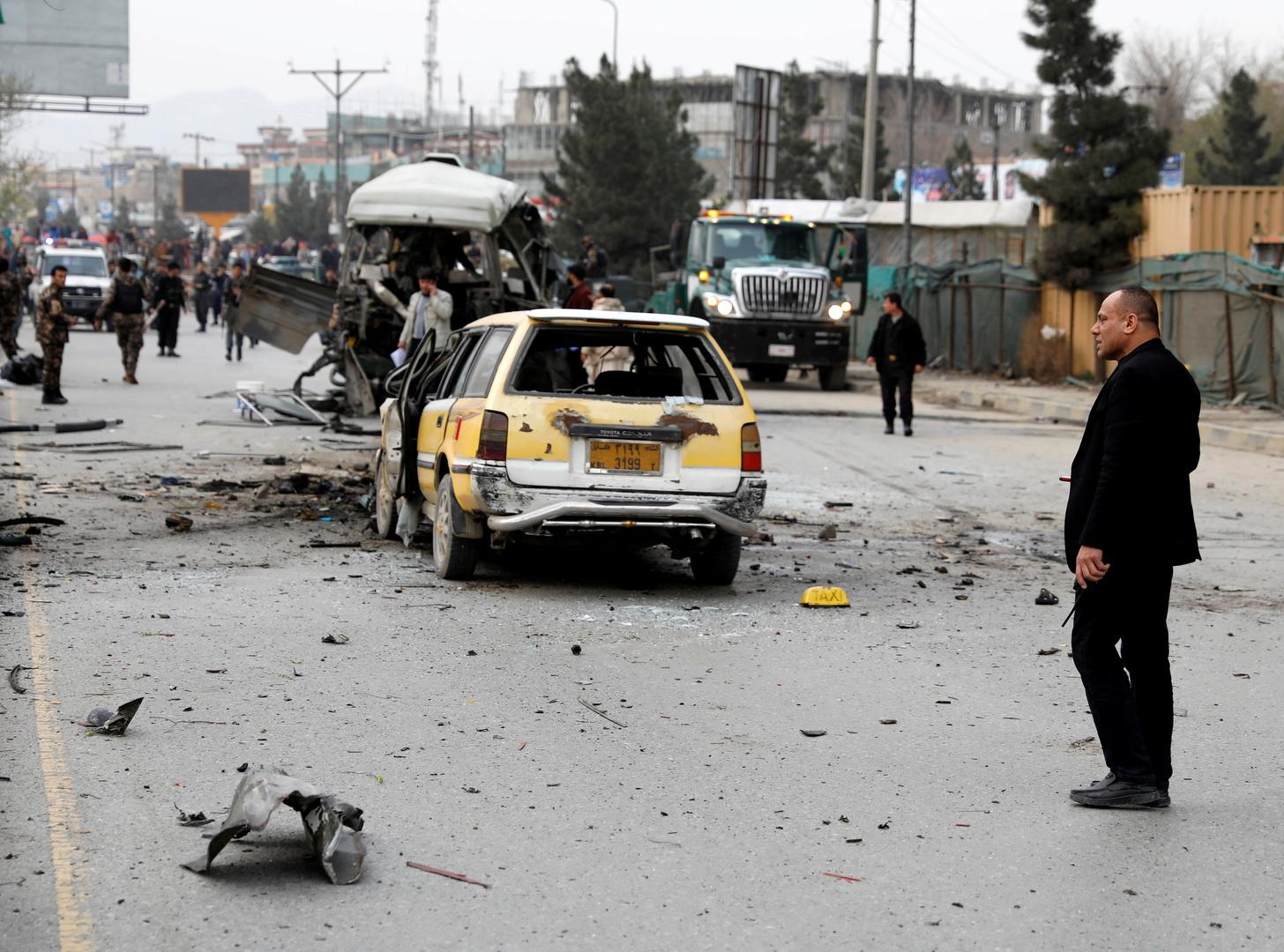 هجوم انتحاري يستهدف قافلة لقوات الأمن الأفغانية في كابل