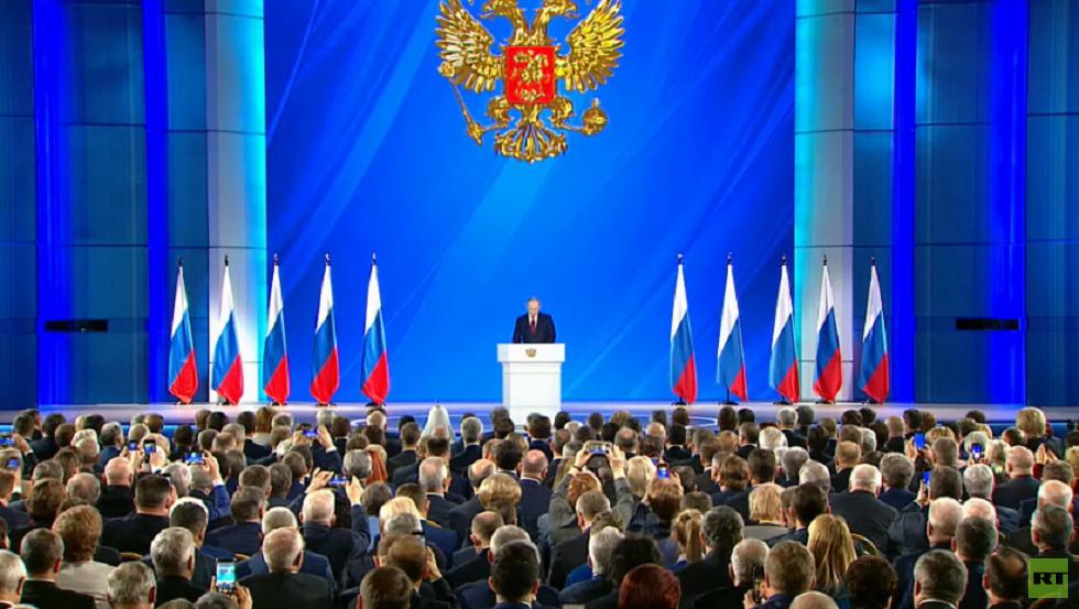 روسيا تنتظر رسالة بوتين السنوية