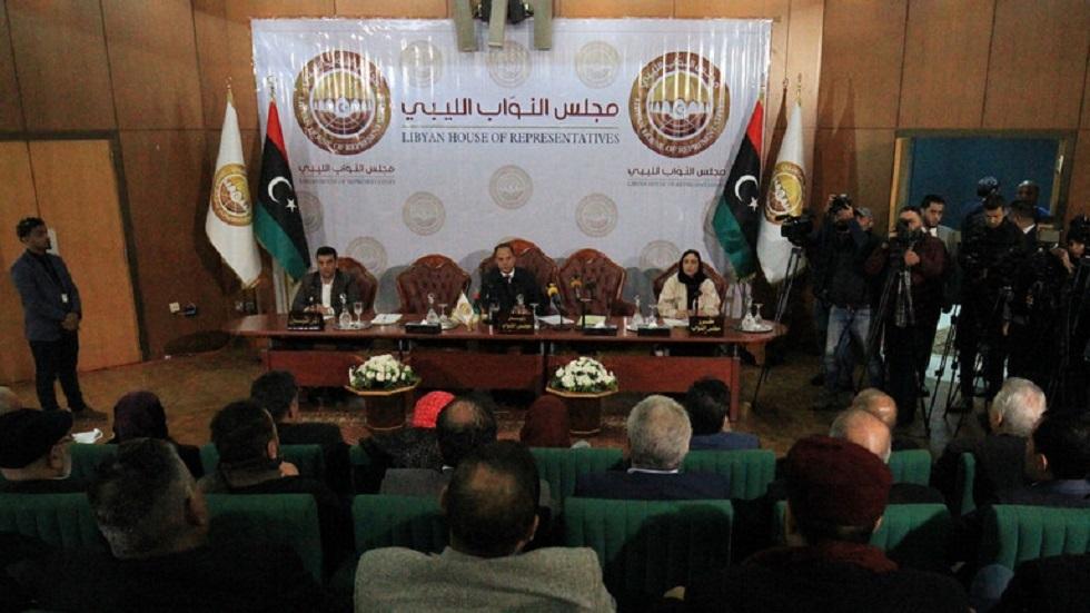 البرلمان الليبي يطالب الحكومة والقوات المسلحة بحماية حدود البلاد بعد أحداث تشاد