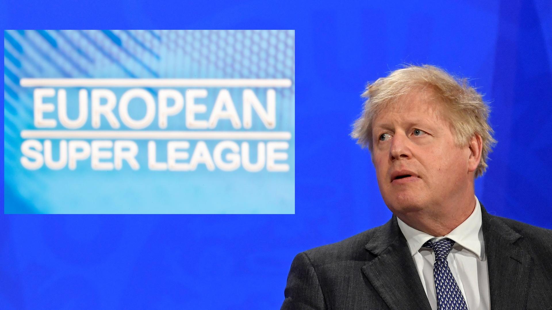 رئيس الوزراء البريطاني يشيد بالانسحاب الجماعي من مشروع السوبر الأوروبي