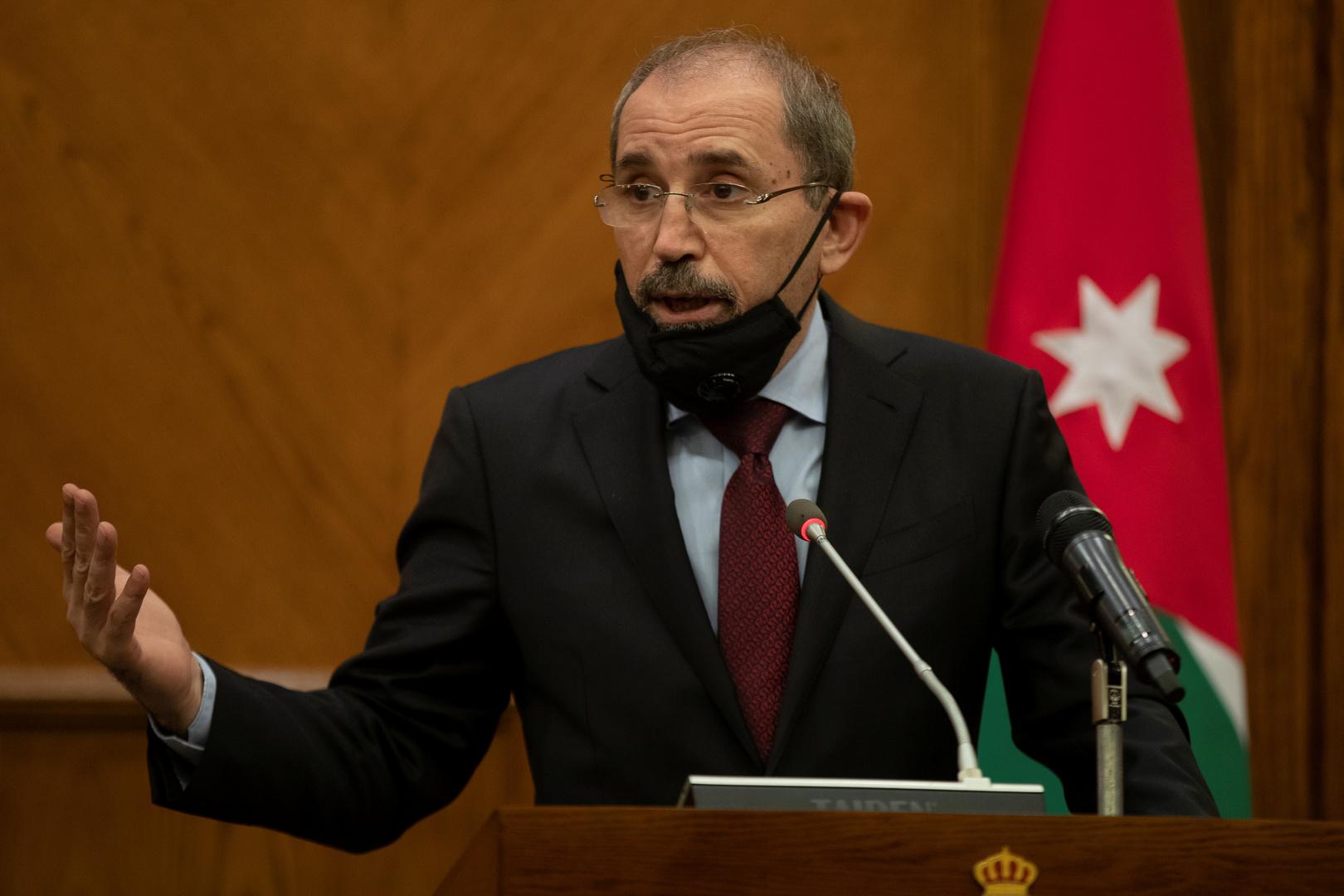 وزير الخارجية الأردني يصل رام الله