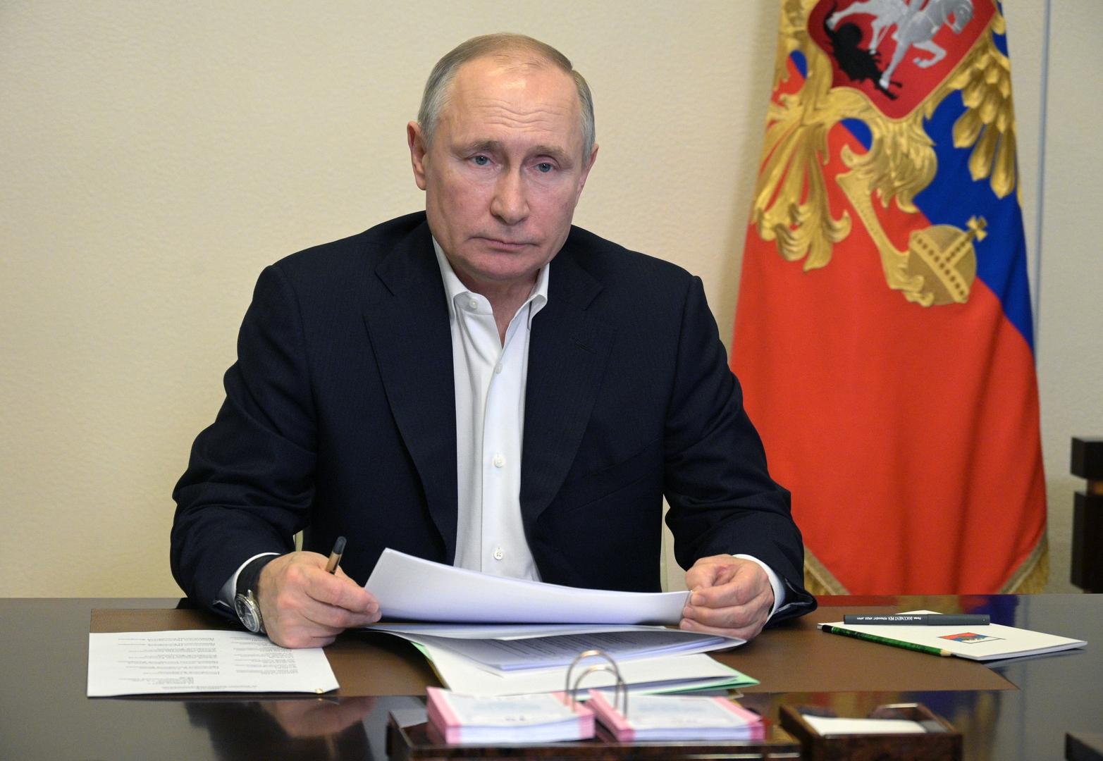 صورة من الأرشيف - الرئيس الروسيفلاديمير بوتين