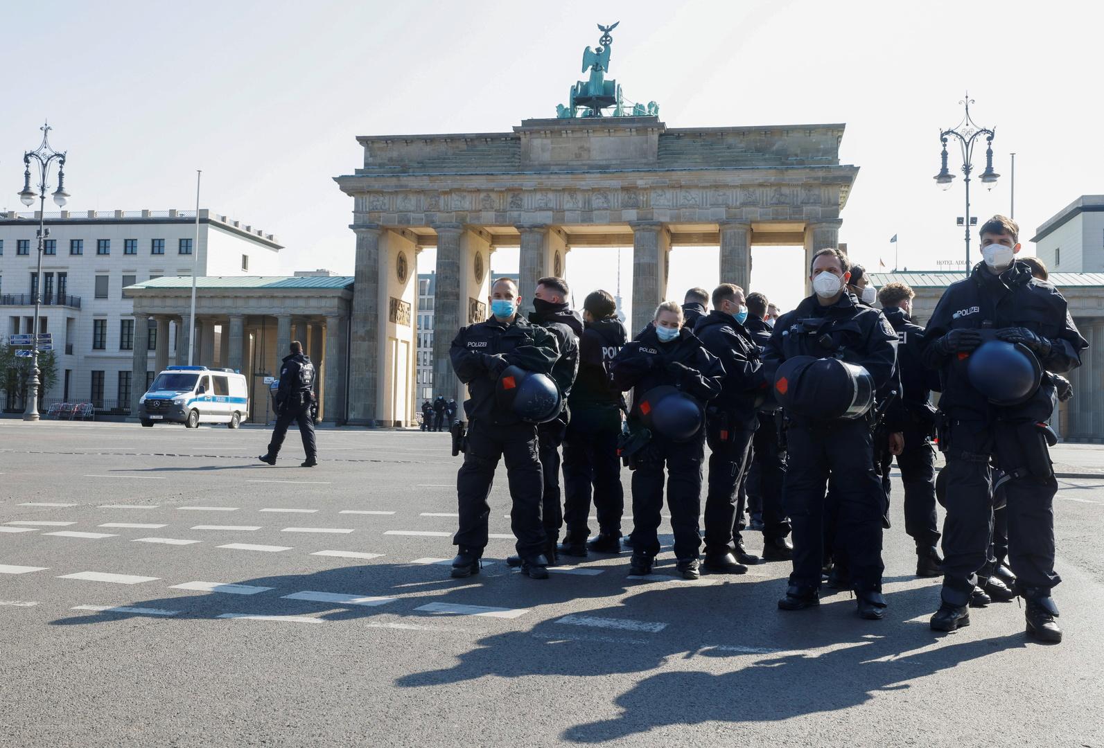 احتجاجات في برلين على قيود كورونا