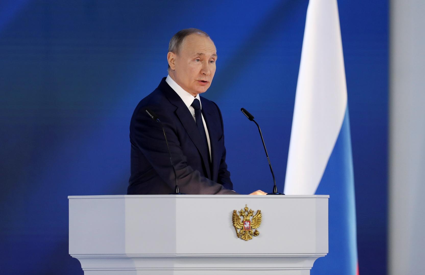 بوتين للبرلمان الروسي: تعاملنا بتضامن مع كورونا ونحتاج لردع وبائي راسخ تحسبا لجوائح محتملة