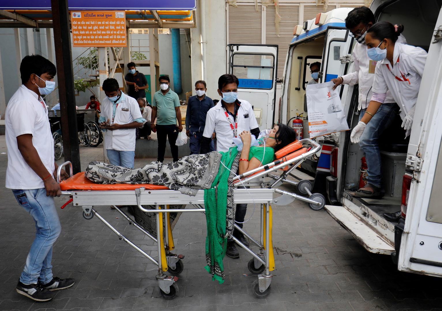 مسؤول حكومي: وفاة 22 مريضا بكورونا في مستشفى بالهند بسبب نفاذ الأكسجين