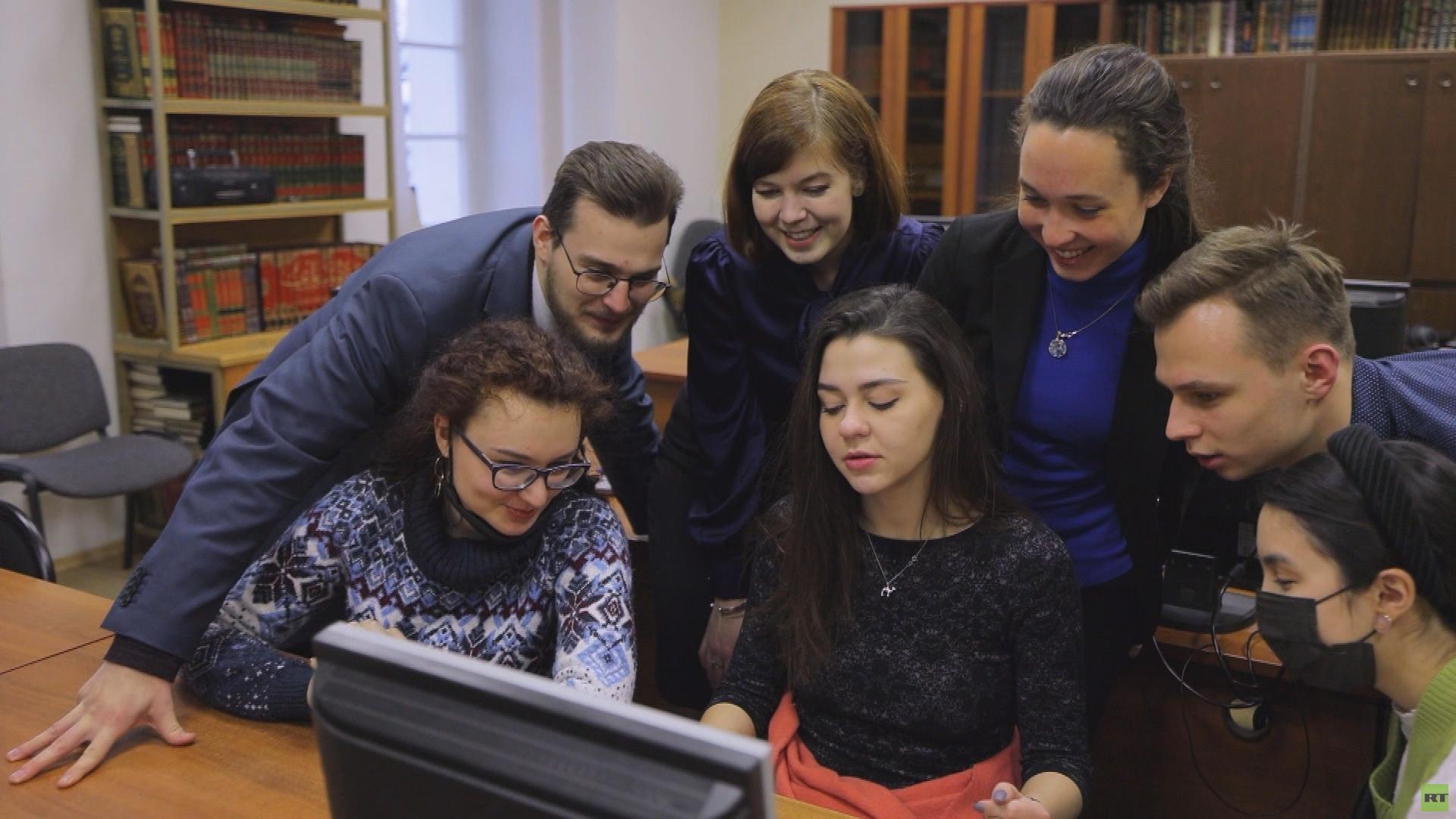 الطلاب الروس في البلدان العربية