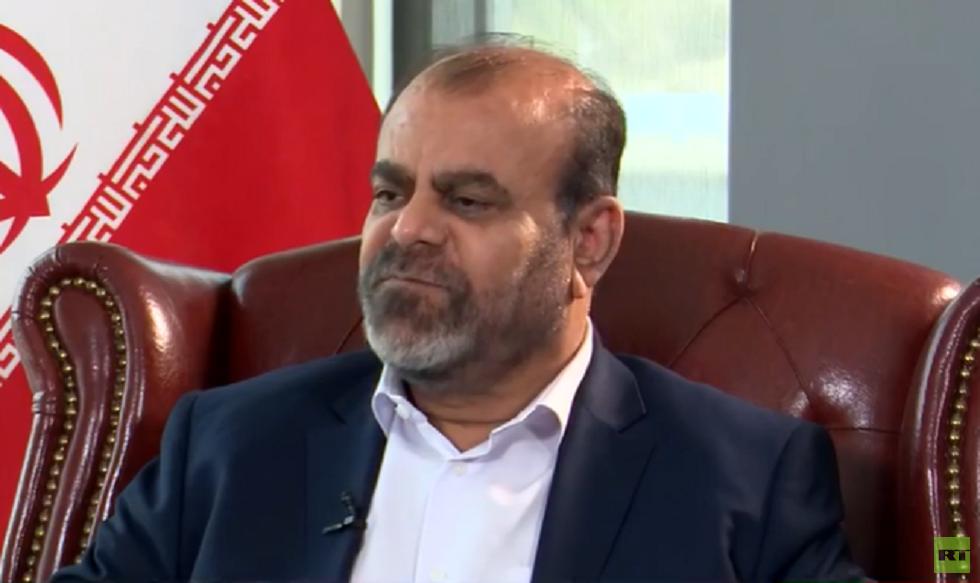 رستم قاسمي مساعد قائد فيلق القدس للشؤون الاقتصادية