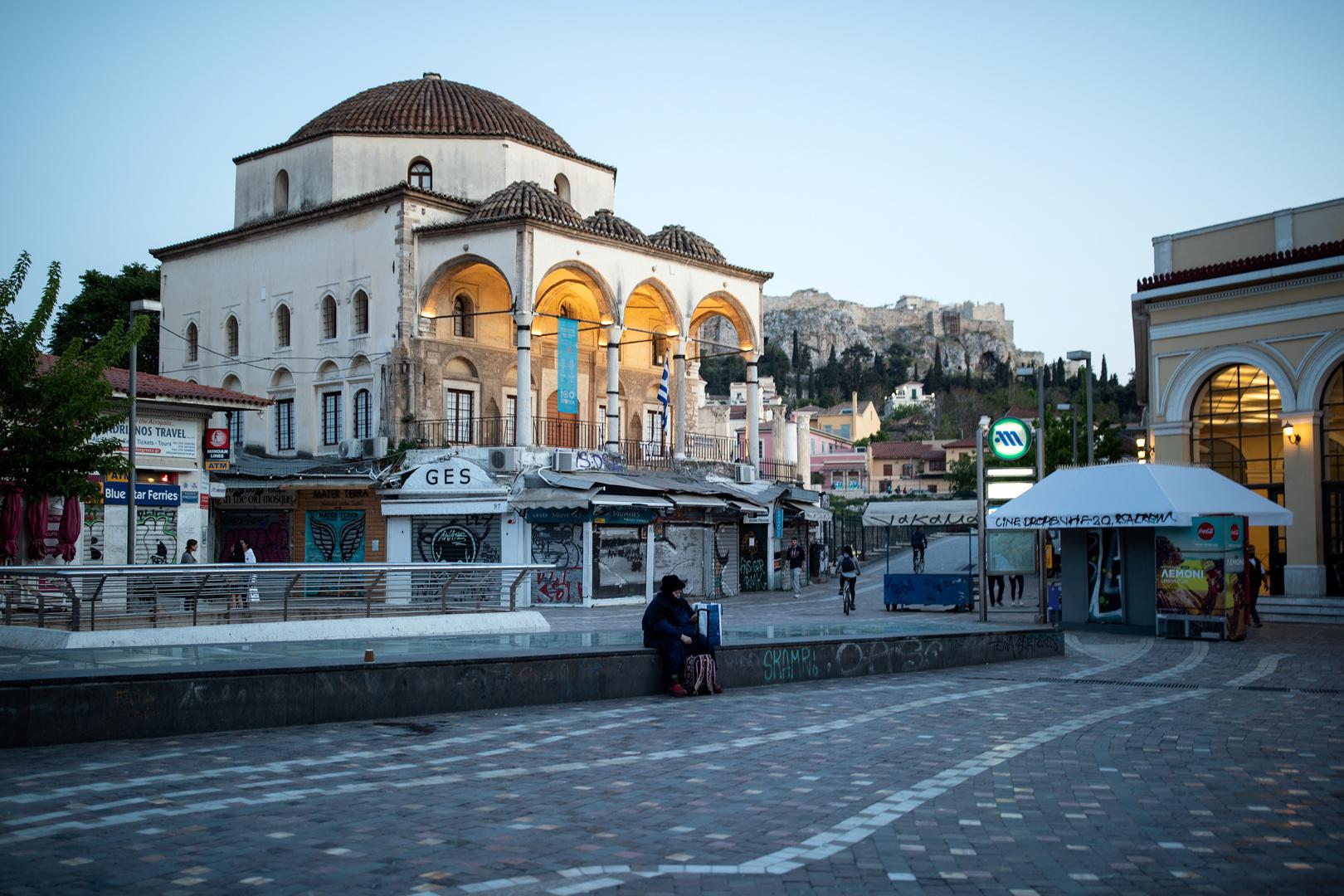 توقف السياحة في اليونان جراء فيروس كورونا