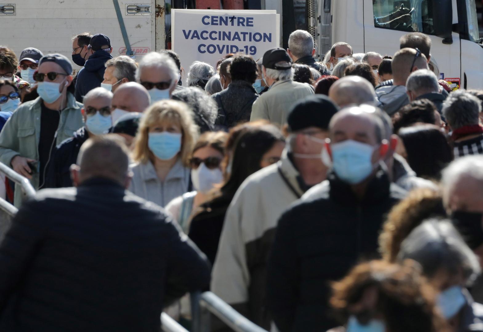 فرنسا..313 وفاة و34968 إصابة جديدة بفيروس كورونا