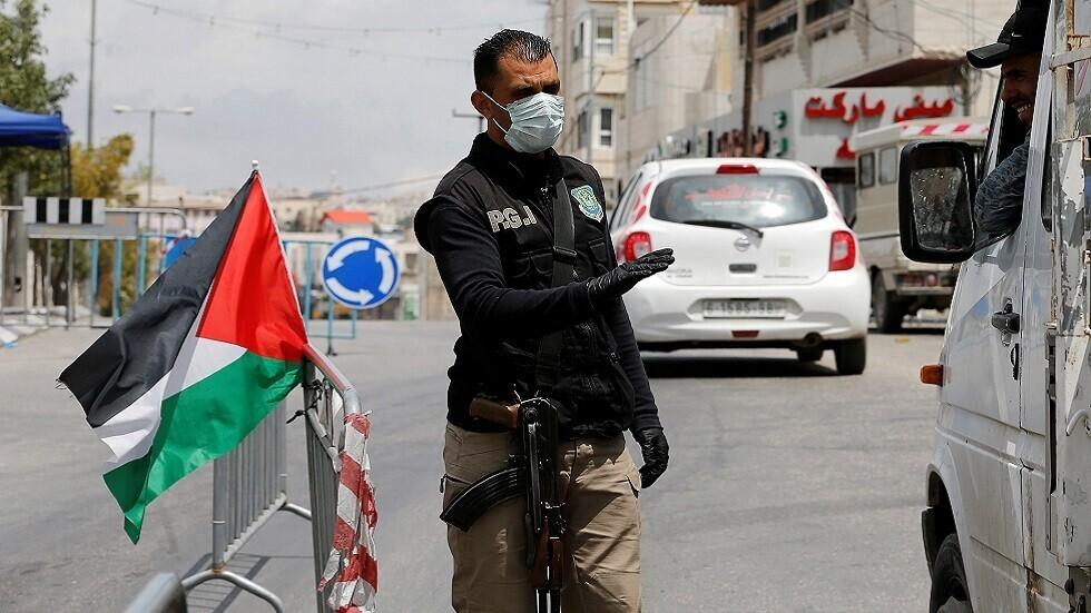 عنصر من قوى الأمن الفلسطينية، صورة أرشيفية