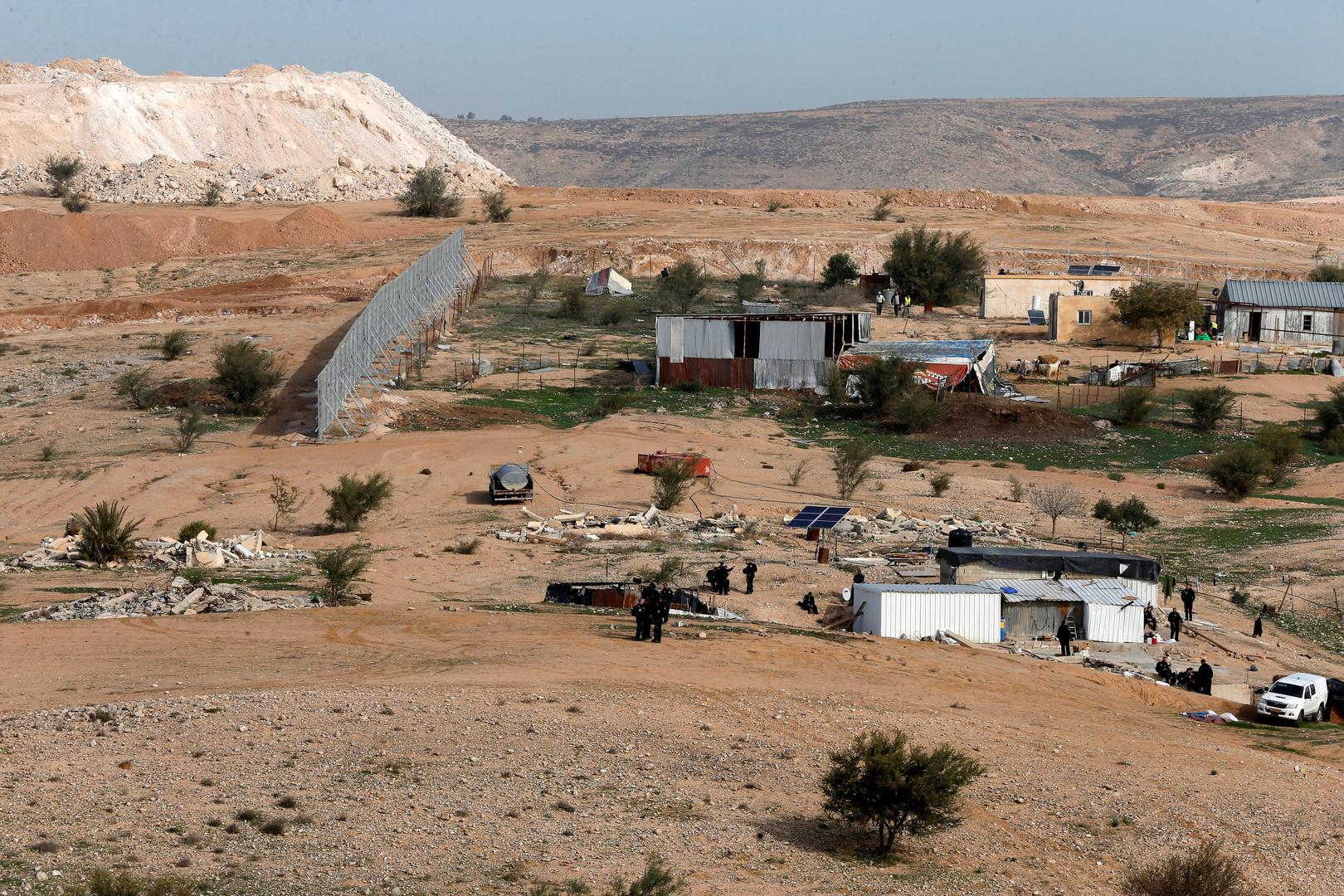 قرية في النقب، صورة تعبيرية من الأرشيف