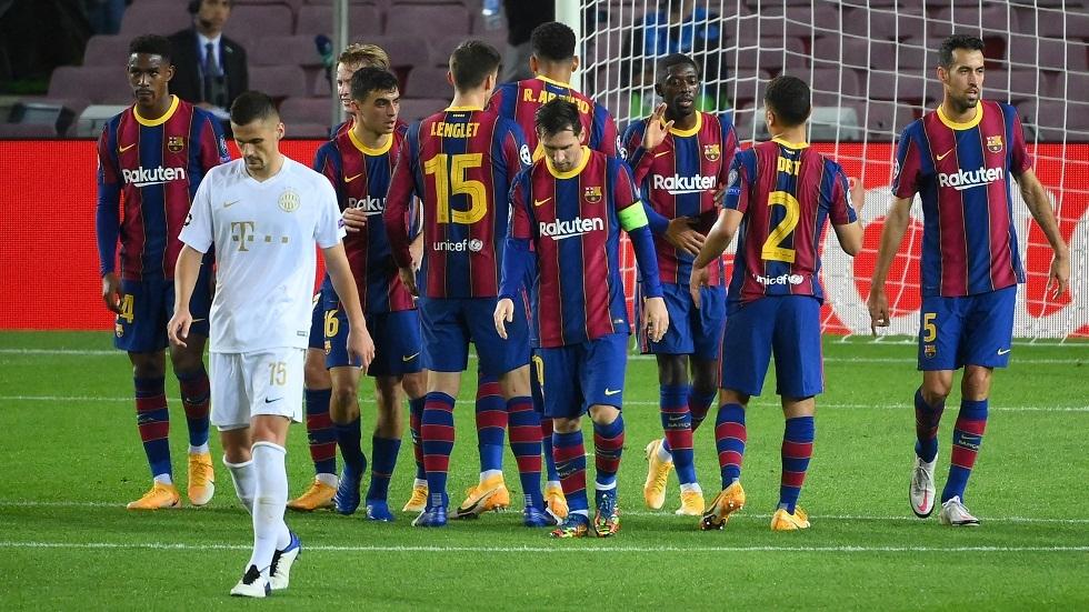 برشلونة يعلن إصابة نجمه قبل ساعات من مواجهة خيتافي في