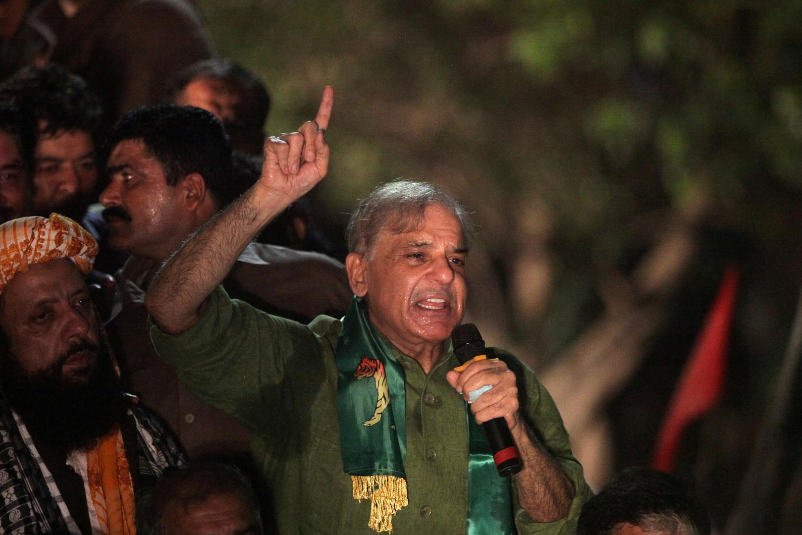 شهباز شريف، زعيم المعارضة الباكستانية