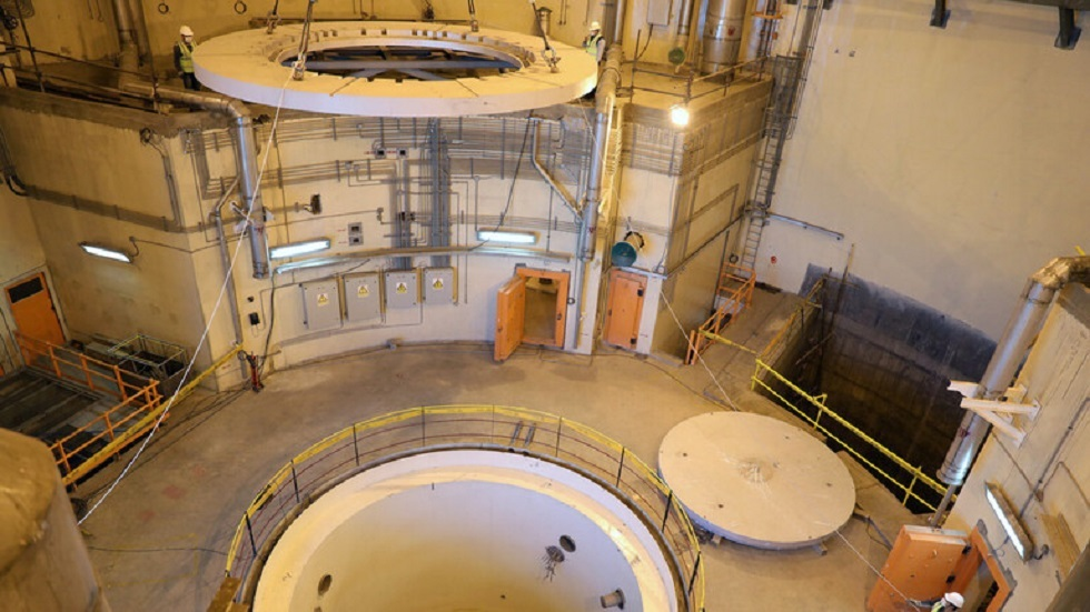 مفاعل نووي إيراني - أرشيف