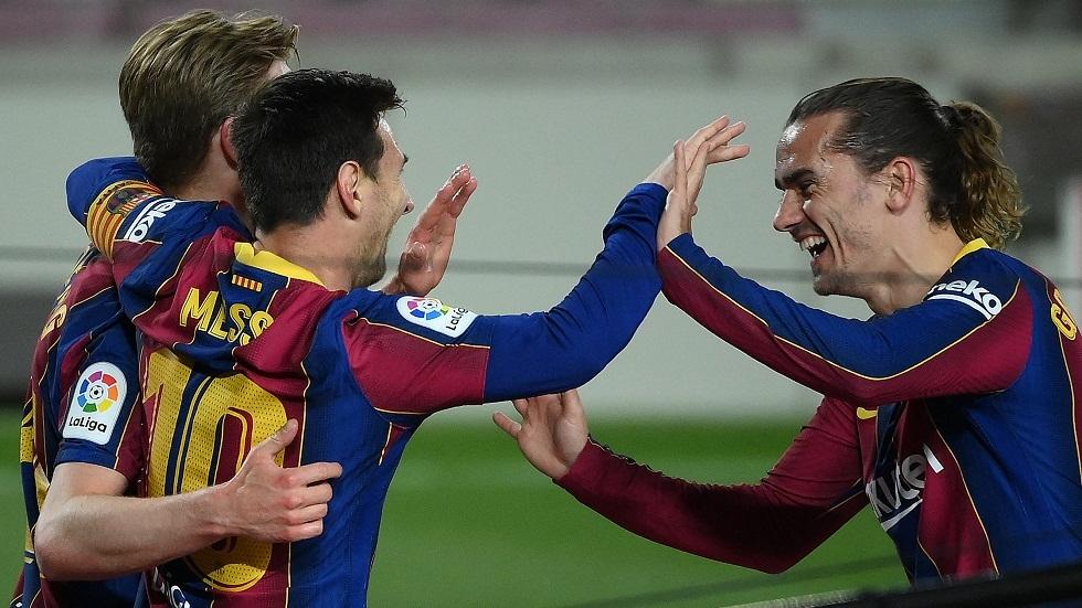 برشلونة يكتسح خيتافي بخماسية ويشعل الصراع على لقب