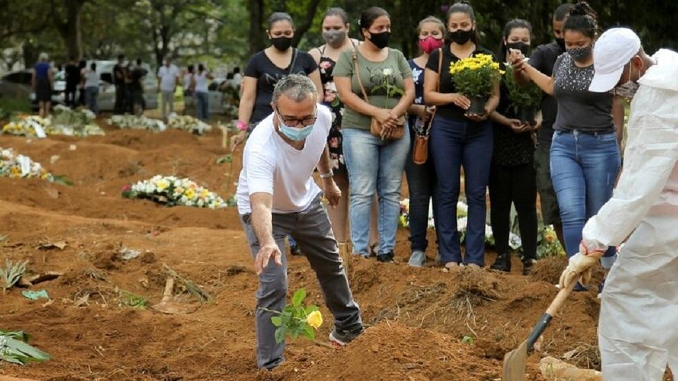 البرازيل تسجل أكثر من 2000 وفاة و45178 إصابة جديدة بكورونا